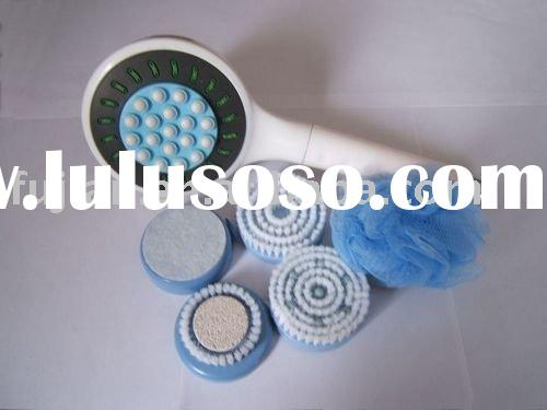 Massage Spa Bath brush with soap dispenser