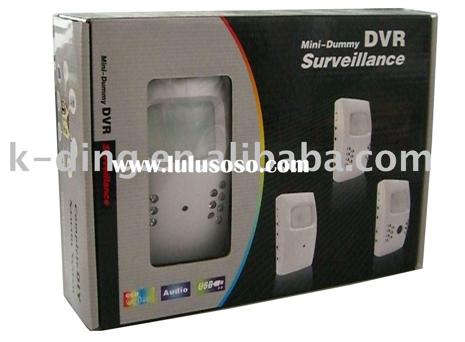 Mini dvr camera for house/store security protect surveillance 30f/s(work with GSM alarm host in wire