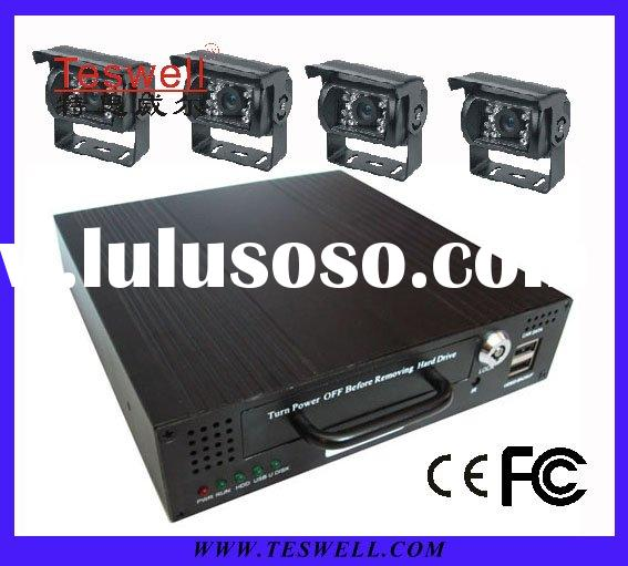 Mobile CCTV DVR Digital Video Recorder with USB port for backup and GPS function.