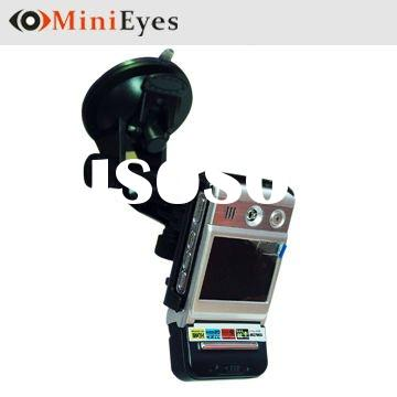 "Mobile Car Dvr with 2.5"" TFT LCD Screen 120 degree wide lens 4 pcs IR night vision (CL-071DV-B)"