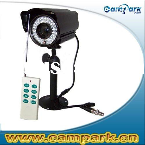 Motion Detect SD Card DVR CCD CCTV Camera with Remote Control
