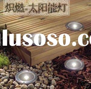 NEW!Stainless Steel Outdoor Garden Solar Pathway Landscape Led Lamp