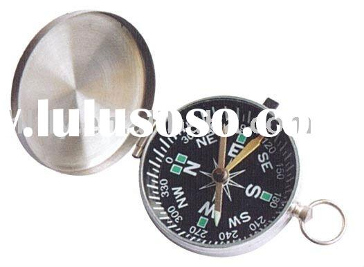 New Lot Of Vintage Pocket Compass Key Chain Compass