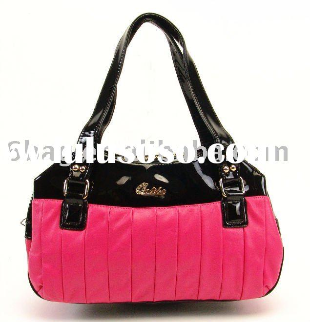 New design ladies' PU bags handbag 2012