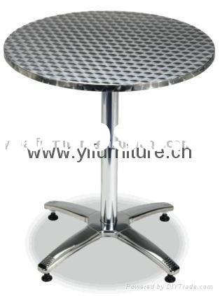 New item outdoor furniture stainless steel table