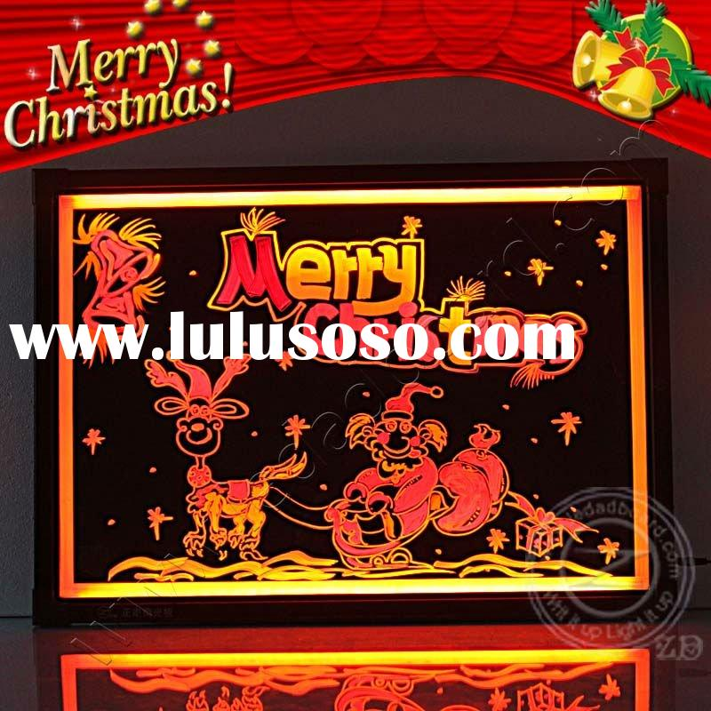 New technology hot products 2012 handmade LED christmas ornament