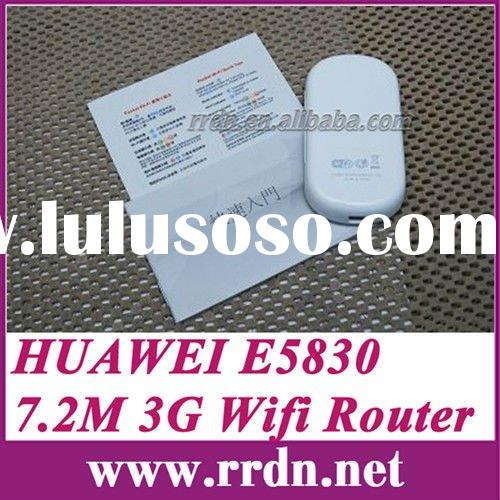 Original Huawei E5830 portable 3G wifi router HSUPA mobile wifi router for iPad wifi