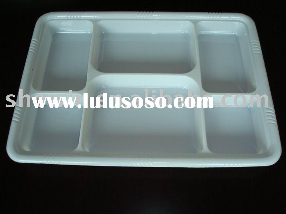 PET/PS/PVC/BOPS take out food packging container