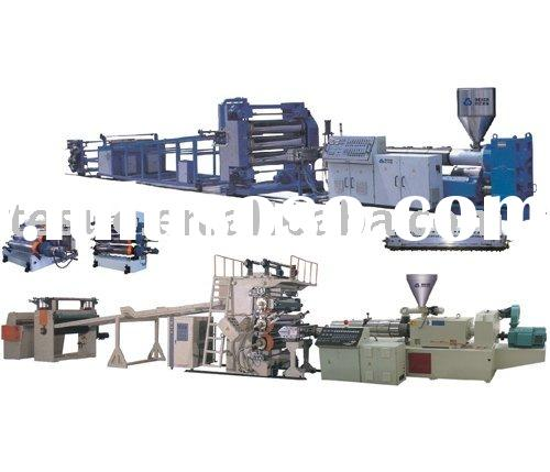 PE PS ABS PVC sheet/board extrusion line-TSSML001544