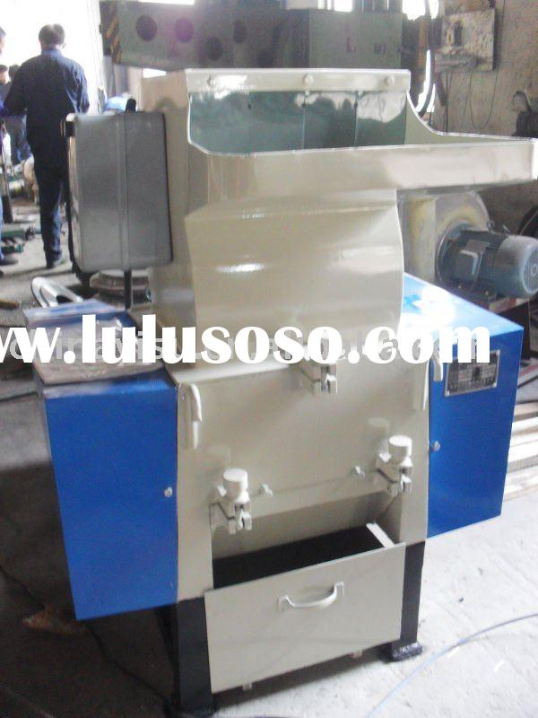 PP/PE/PVC waste plastic crusher/PET plastic bottle crushing machine
