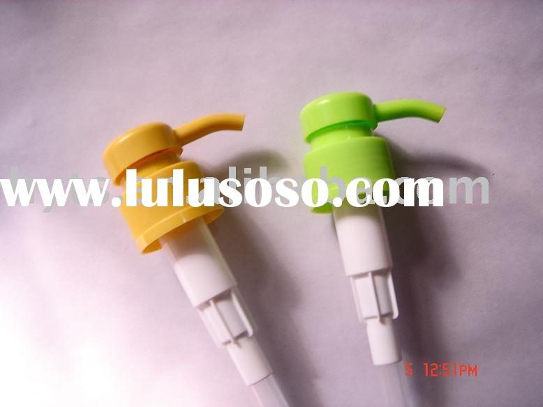 Plastic liquid dispenser pump