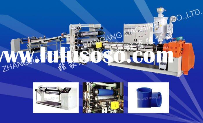 Plastic sheet extrusion line / PE PP ABS PS PVC PC PET sheet extruder LJ