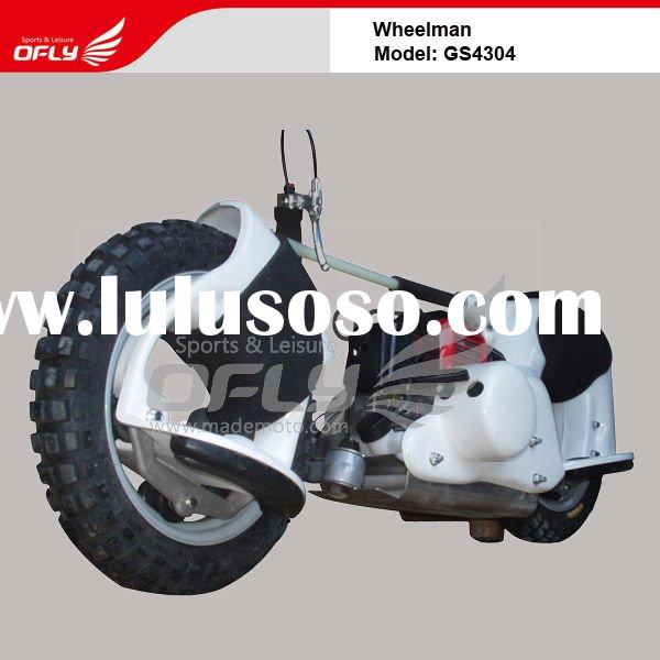 Powerful 49cc gas scooter with 45 Degrees Climbing Capacity GS4304