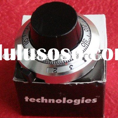 Precision 20 Turn Potentiometer Marked Dial Knob