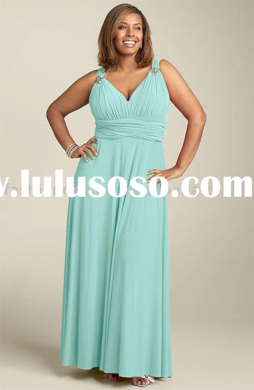 RB038 New style formal plus size evening dress bridesmaid dresses