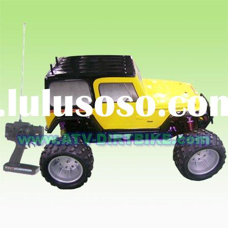 RC Car CA-02, 1/5 scale Jeep body car gas power