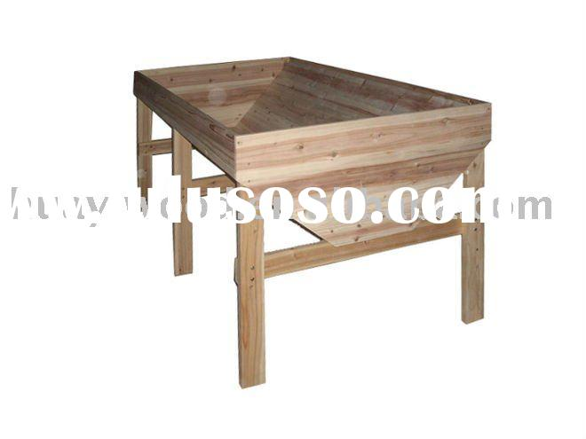 Raised Garden Beds, Vegetable Raised Planting Beds, Garden Planters Wooden, Planting Tables