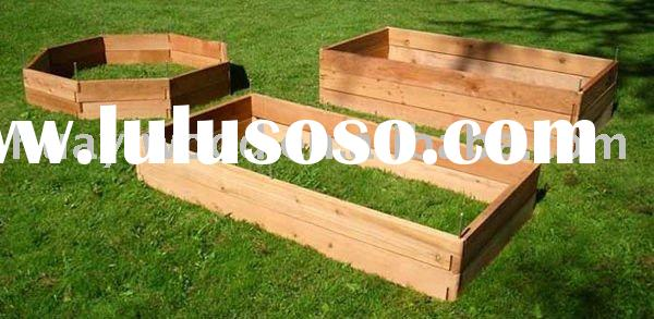 Raised Garden Beds, Wooden Garden Planters, Planter Boxes