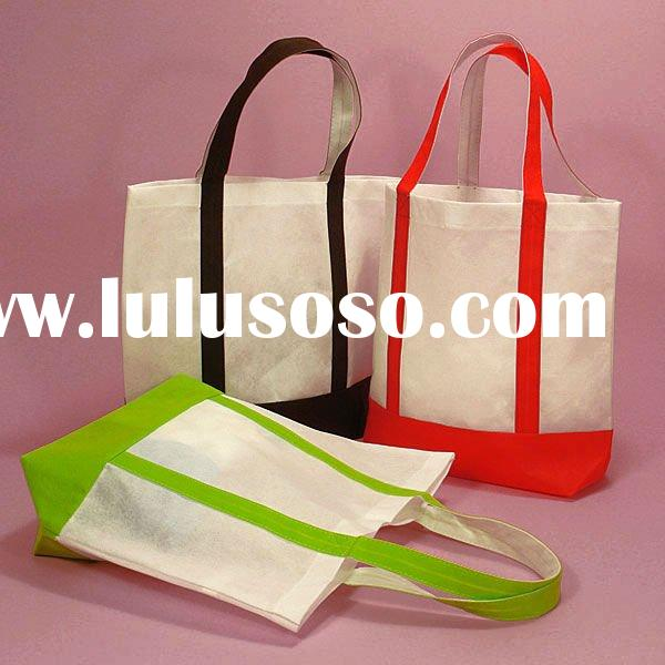 Reusable non-woven fabric bags