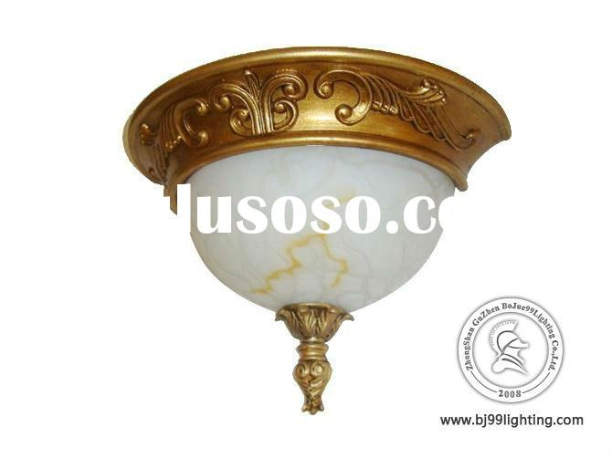 Round glass ceiling light covers