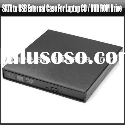 SATA to USB External Case For Laptop CD / DVD ROM Drive,YAN500A