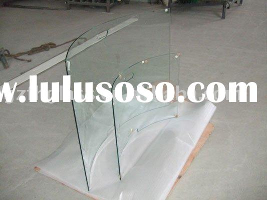 TG-01 Tempered Fireplace glass/Fire screen glass Glass Custom size