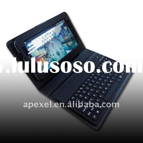 Tablet pc leather case keyboard for 7 inch MID Samsung galaxy Tab