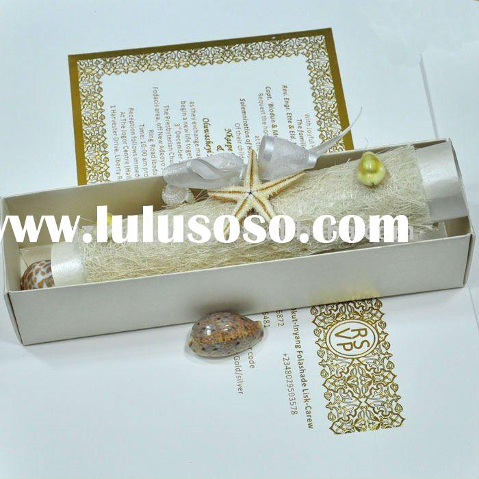 Scroll Wedding Invitation Manufacturers
