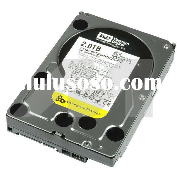 "WD2003FYYS Western Digital Hard drive 2 TB internal 3.5"" SATA-300"