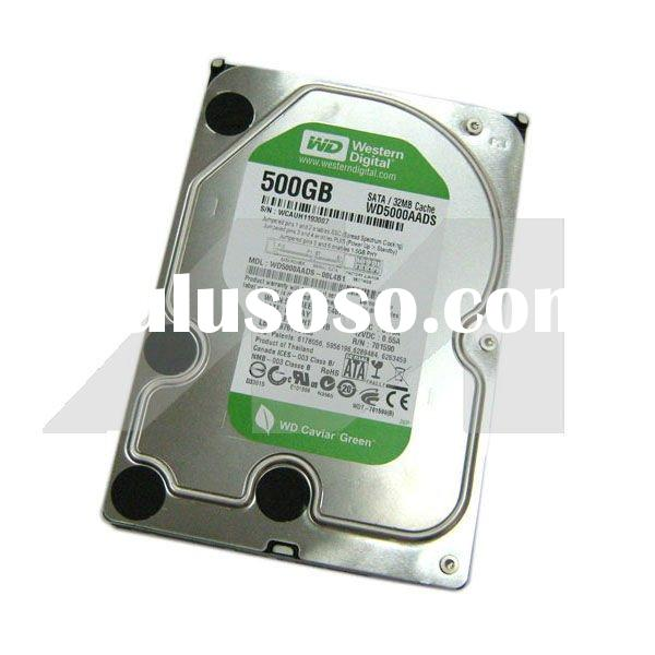 "WD5000AADS Western Digital 500 GB Internal 3.5"" SATA HDD"