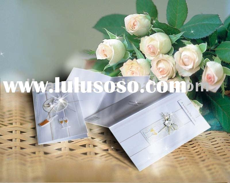 handmade wedding card invitation wedding invitation card The feature of