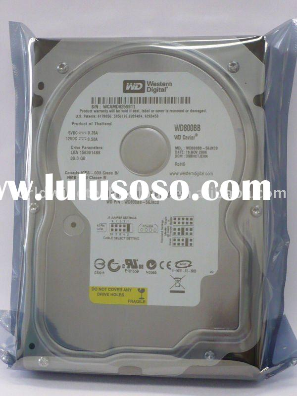 "Western Digital 80GB Desktop 3.5"" New Pull Hard Disk Drive"