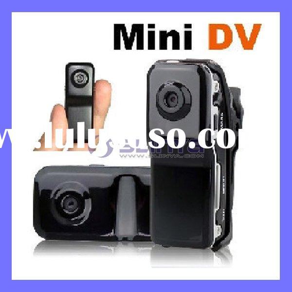 With Clip Inner Battery Portable Pinhole DVR mini CCTV Camera