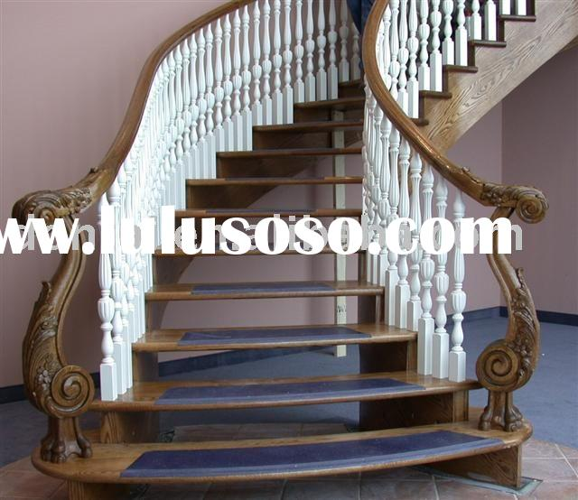 Wooden Stairs(Curved Stairs)