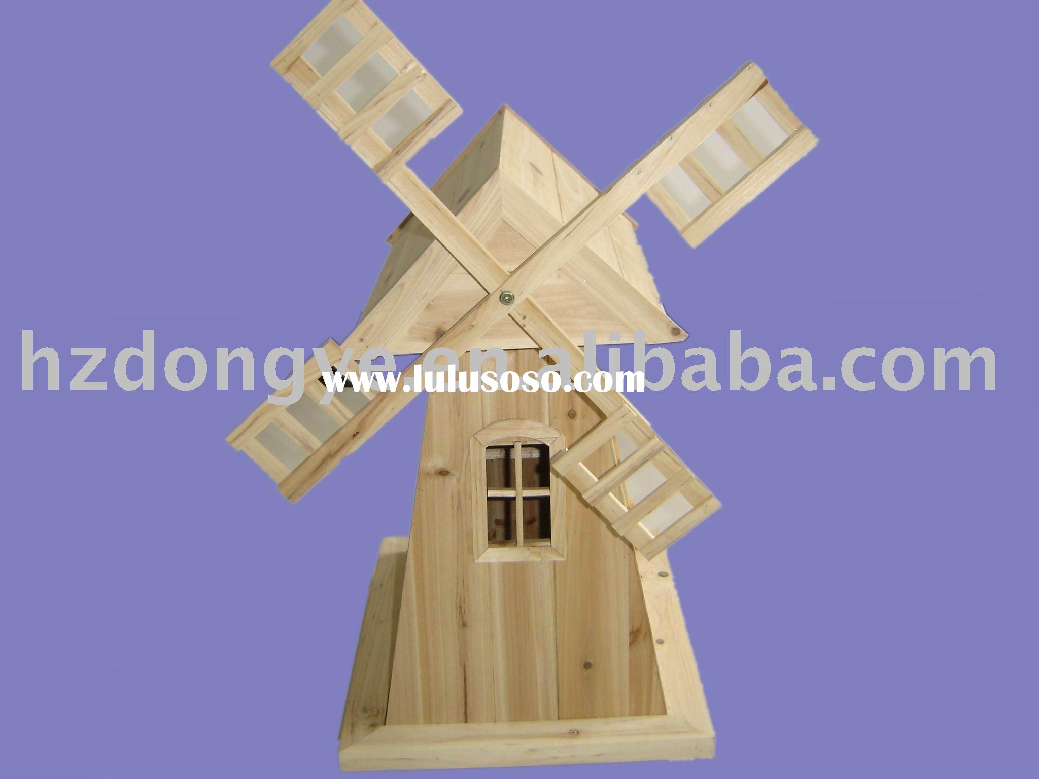 wooden windmills plans
