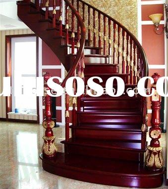 Spiral Staircase Wood On Classic Solid Wood Spiral Staircase