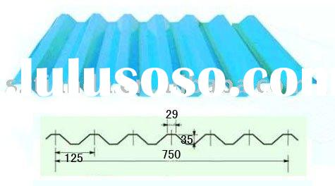 corrugated steel sheet / corrugated sheet metal roofing / roofing sheets