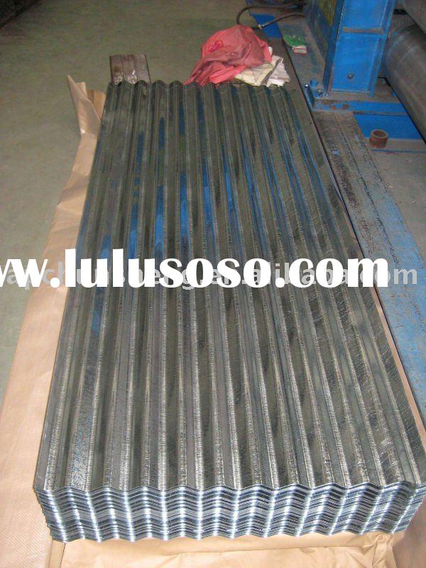 Galvanized Corrugated Metal Roof Sheets(factory)