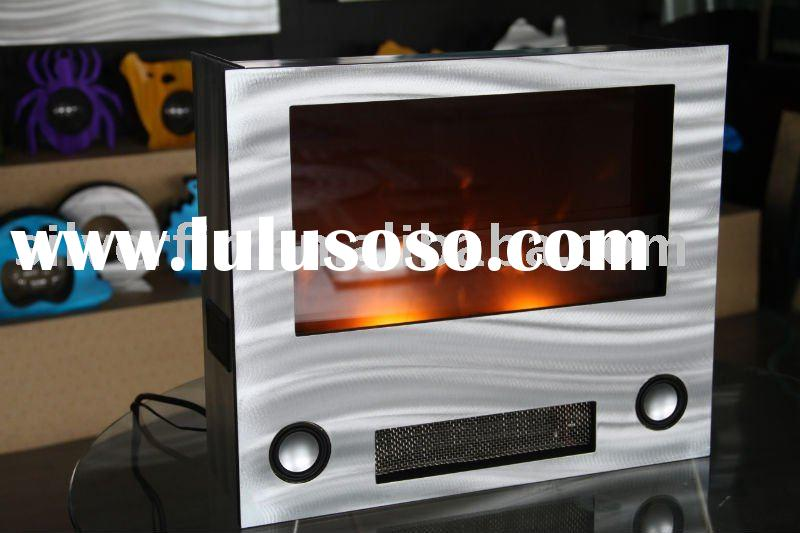 home decor electric fireplace with MP3.fire place, fireplace frame.classic fire place.untique,decor