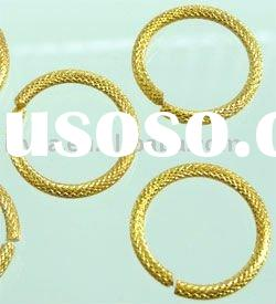 hot sale D02701 Metal ring decorated 15mm 50 pcs/bag split ring /jump ring