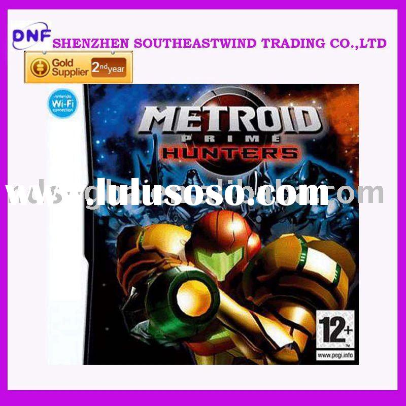 latest new 100% video game card for ds games- Metroid Prime Hunters (E)