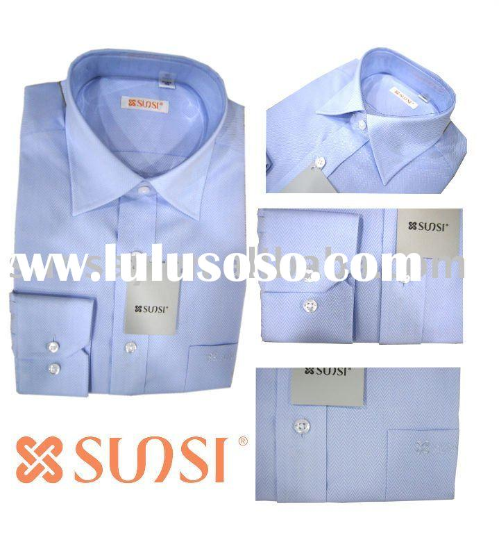 mens' long sleeve shirt business shirt brand shirt formal wear
