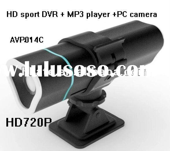 mini HD car DVR, drive recorder, car recorder, ship camera, motor bicycle recorder sport camera + MP