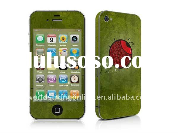 new design for iphone 4 sticker skin