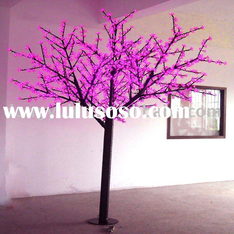 pink led outdoor lights ,led tree lights,led cherry tree ,led cherry tree light ,led christmas tree