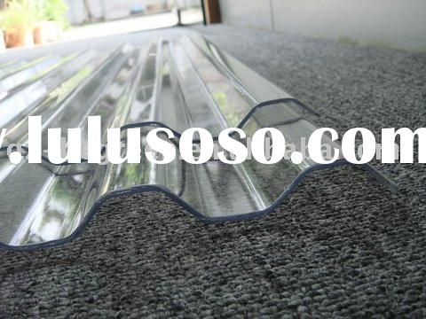 polycarbonate Corrugated roofing sheet, transparent roofing tile
