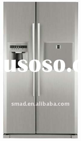 side by side refrigerator with ice maker,water dispenser and minibar