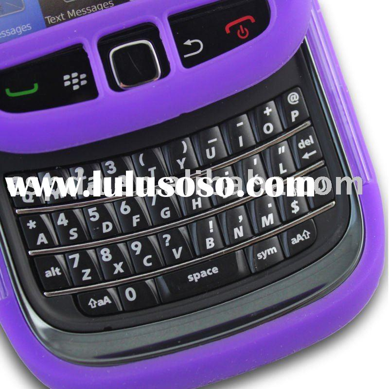 silicon skin covers for blackberry torch 9800 mobile phone