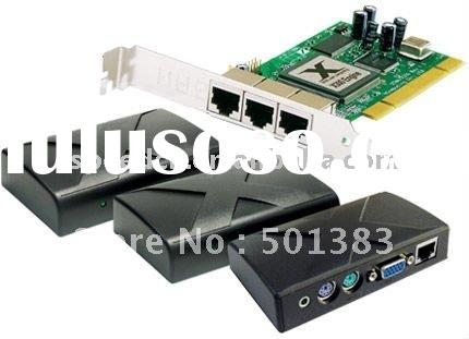 thin client Ncomputing X300 with pci graphic card pc terminal