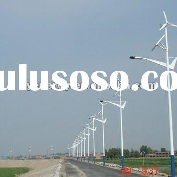 wind solar hybrid street lighting LED